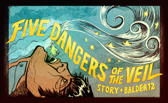 Banner for Five Dangers of the Veil