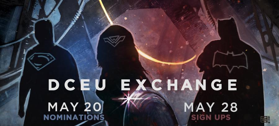 DCEU Exchange Banner