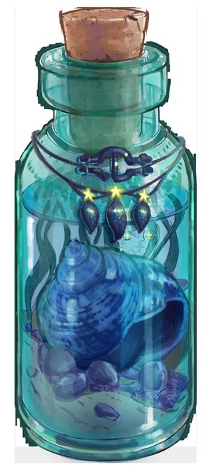 Collectible Ocean Bottle