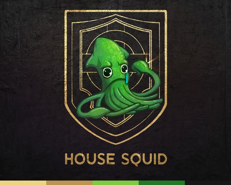 House Squid Crest